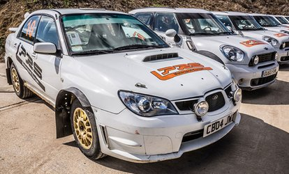 image for Up to 30 Laps of Rally Driving at Langley Park Rally School (Up to 72% Off)