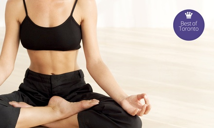 10 or 20 Yoga Classes at Chopra Yoga Center Toronto (Up to 80% Off)
