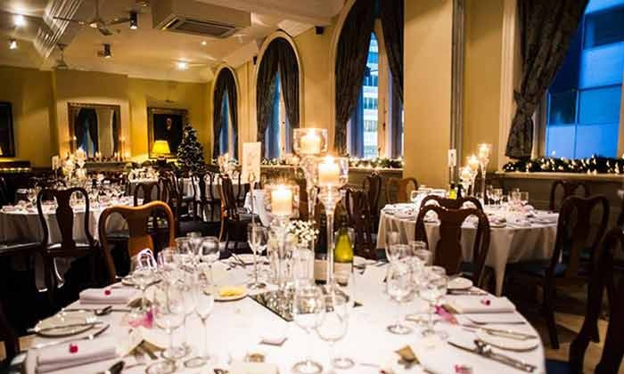 Ziba Restaurant At The Racquet Club Hotel Liverpool Two Course Meal With A