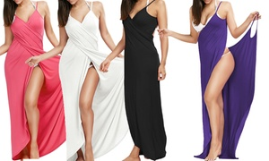 Robe de plage multi-positions