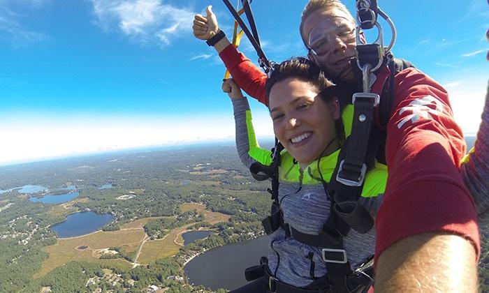 Skydive South Boston - Hanson: Tandem Skydive for One or Two from Skydive South Boston (Up to 41% Off)