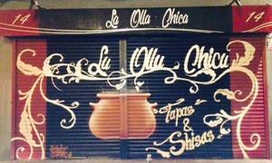 La Olla Chica Hooka Lounge: Raciones, tostas, bebidas y shishas para dos o cuatro desde 16,95 € en La Olla Chica Hooka Lounge