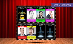Complexe Fan Club: Musical or Comedy Show with Optional Dinner for Two at the Complexe Fan Club (Up to 51% Off), 16 Dates