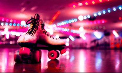 Entry for One, Two , Four or Six to Roller-Disco at Sk8 Hire, 10 Locations (Up to 50% Off)
