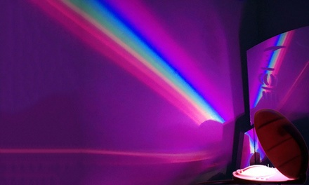 Rainbow Romantic Star LED Projecting Lamp Night Light: One ($19) or Two ($34)