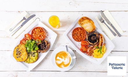groupon.co.uk - All-Day Brunch with Optional Hot Drink for Two at Patisserie Valerie, Nationwide (Up to 43% Off)