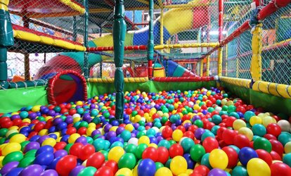 image for Soft Play Area Entry with Drink or Meal for One or Two Kids at Holly Tree Soft Play, Two Locations (Up to 58% Off)