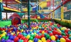 Soft Play Area Entry with Drink
