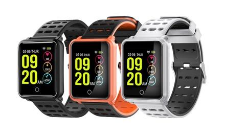 Montre connectée G-Wear Alpha avec écran tactile étanche et tracker d'activités