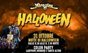 Ingressi Miragica Halloween Party: Uno o 2 ingressi al Miragica Halloween Party - 31 ottobre a Molfetta (sconto 17%)