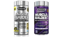 Muscletech Muscle Builder and Muscle Builder PM Dietary Supplement Set