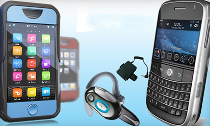 Wireless Accessories - Downtown: Cell-Phone and Tablet Repairs and Accessories at Wireless Accessories (Up to 52% Off). Four Options Available.
