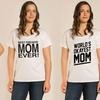 Ladies' Plus-Size Mother's Day Tees