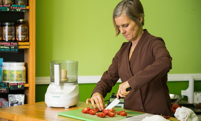 Food-Preparation Class - Green Spirit: Prepare a Meal with a Raw-Food Movement Chef