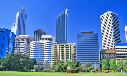Perth: One or Two Nights CBD Apartment Stay for Two or Four People with Late Checkout at All Suites Perth