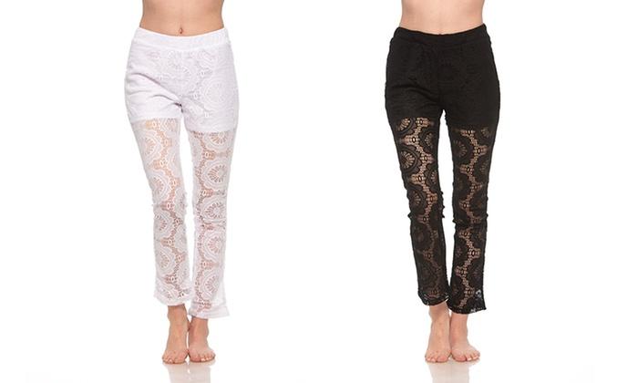womenu0027s juniorfit lace coverup pants womenu0027s juniorfit lace cover