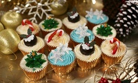 12 Luxury Christmas Cupcakes of Choice at 3D Cakes (77% Off)