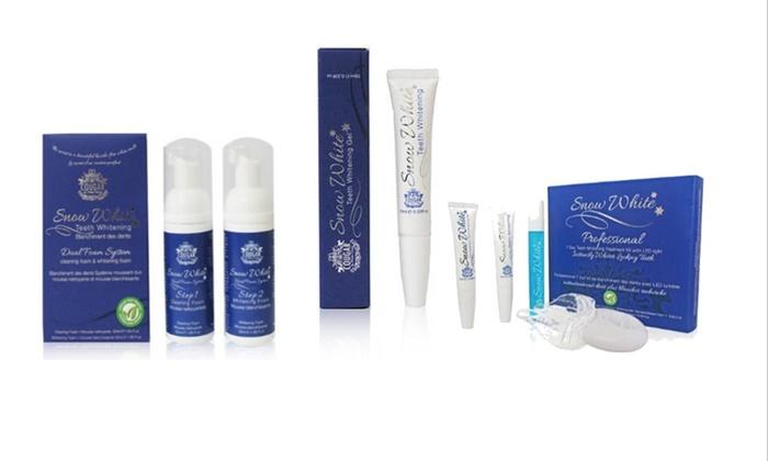Snow White Teeth Whitening Kits Groupon Goods