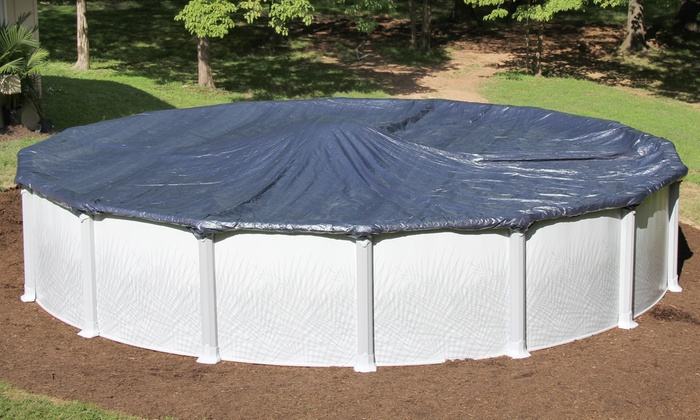 winter pool covers. Above-Ground Winter Pool Covers :