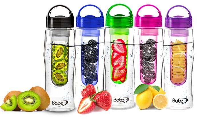 fles water fruit