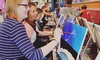 Up to 24% Off Painting Class at Saratoga Paint & Sip Studio