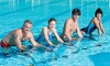 1 séance coachée et des séances en accès libre d'aquabiking