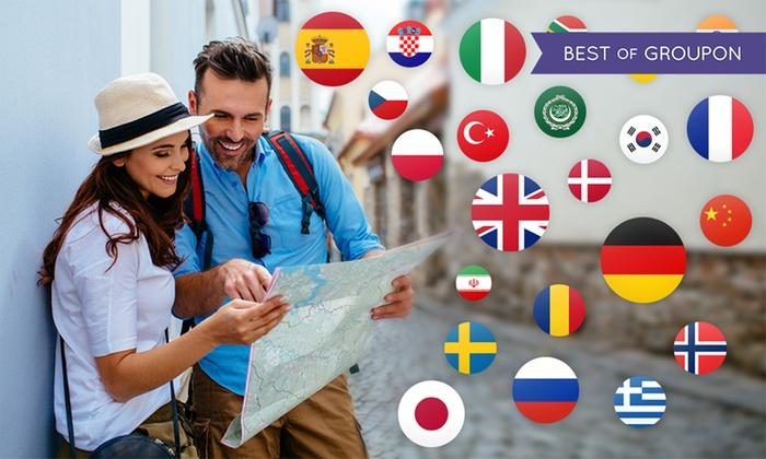 1, 3, 6 oder 12 Monate oder lebenslang interaktiv 1 oder 33 Sprachen lernen mit der intelligenten App von Mondly