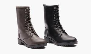 Sociology Women's Lace-Up Combat Boots