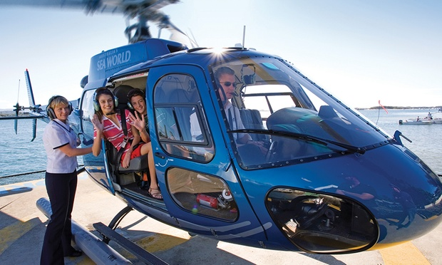 Sea World Helicopters In Main Beach QLD  Groupon