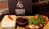 Koh Thai Tapas - Christchurch - Koh Noi Christchurch: Two-Course Thai Lunch with One Side for Two or Two Sides for Four at Koh Noi Christchurch (Up to 49% Off)
