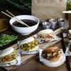Menú con wok y baos