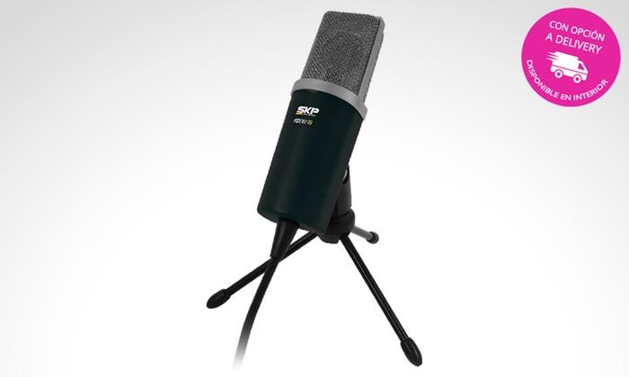 SKP pro audio - Sucursal Chacarita: $649 en vez de $1200 por micrófono Podcast 100 para retirar en sucursal Chacarita