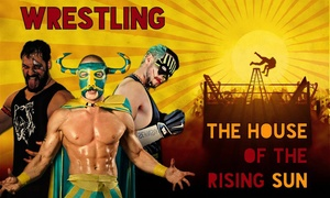 ASD Indy Wrestling: Biglietto per The House of the Rising Sun, spettacolo di Wrestling il 7 maggio a Bergamo (sconto 50%)