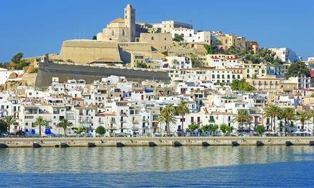 ?Ibiza: 2, 3, 4, 5 o 7 noches con vuelo de ida y vuelta desde Madrid, Barcelona, Valencia o Málaga para 1 persona