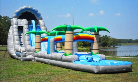 Amusement and Concessions Rentals from Clownin' Around Amusement Rentals (50% Off). Two Options Available.