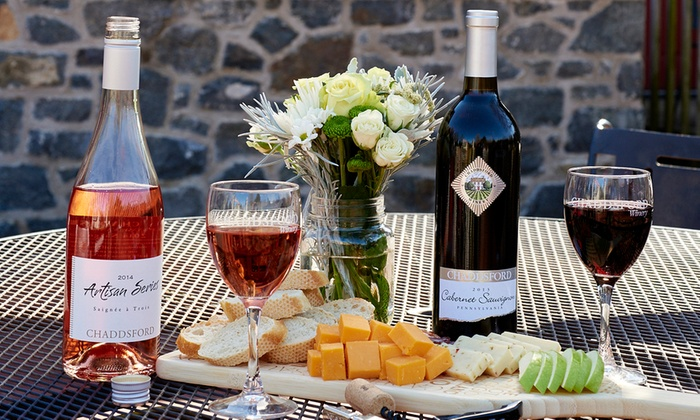 Chaddsford Winery - Multiple Locations: Wine Tasting for Four or Six at Chaddsford Winery (29% Off)