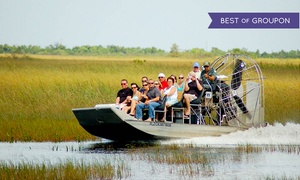 Coopertown Airboats: Everglades Airboat Tour for One, Two, or Four from Coopertown Airboats (Up to 29% Off)