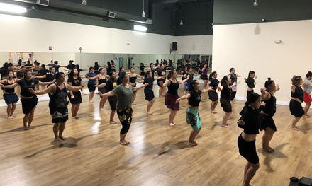 One or Two Months of Tahitian Dance Fitness Classes at Hura Atua Nui (Up to 54% Off)