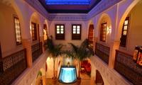 Marrakech: 1 hasta 14 noches para dos con desayuno, detalle VIP, cena y baño de vapor desde 45€ (hasta 68% de descuento)