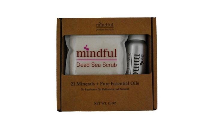 Mindful Minerals Dead Sea Scrub Craft Set (2-Piece): Mindful Minerals Dead Sea Scrub Craft Set (2-Piece)