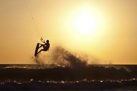 Tageskurs Kitesurfing für 1 oder 2 Person im fränkischen Seenland mit der EZ-SUP School ab 49,50 €