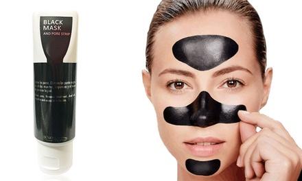Mascarilla facial exfoliante negra