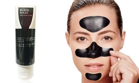 Hasta 5 mascarillas faciales negras exfoliantes de 75ml