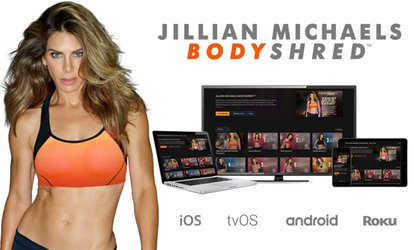 image for 60-Day, At-Home BODYSHRED Digital Workout Program from Jillian Michaels (42% Off)