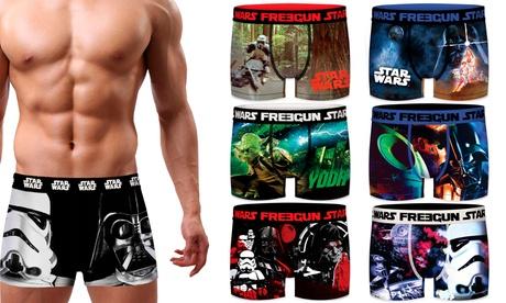 Pack de 3 o 6 boxers Freegun con motivos de Star Wars