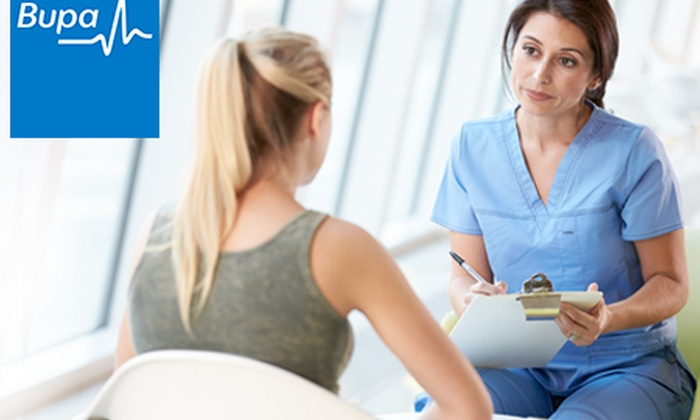 Bupa Head Office - Multiple Locations: Bupa Core Health Assessment with Blood Profile and Consultation for £79 at a Choice of London Locations (51% Off)
