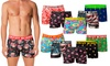 Lot de 10 boxers Crazy Boxer