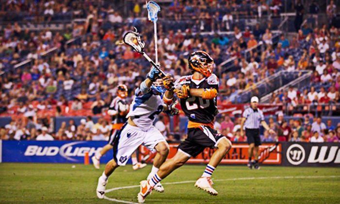 Denver Outlaws -  Sports Authority Field at Mile High: Denver Outlaws Game with Hot Dog and Soda at Sports Authority Field at Mile High (Up to 52% Off). Three Games Available.