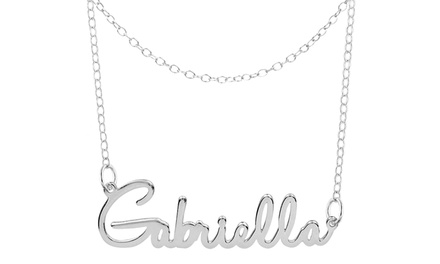Personalized Name Choker (84% Off)