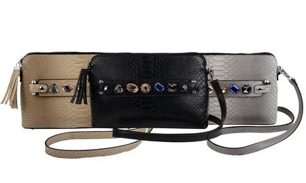 Snakeskin-Effect Clutch Bag for £7.99 (72% Off)